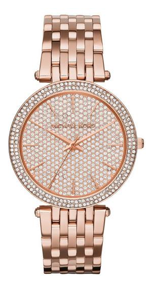 Vanité Reloj Michael Kors Original Para Dama Mk Mujer.