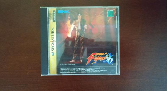 The King Of Fighters 96 - Sega Saturn - Original Japonês
