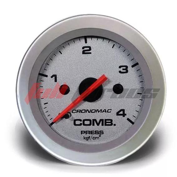 Manômetro Combustivel 52mm Mec 4kg Racing