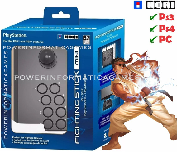 Controle Arcade Hori Fighting Stick Mini 4 Arcade Ps4 E Ps3