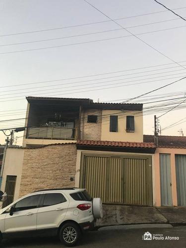 Casa Com 4 Dormitórios À Venda, 88 M² Por R$ 500.000,00 - Residencial Santa Clara - Poços De Caldas/mg - Ca1367