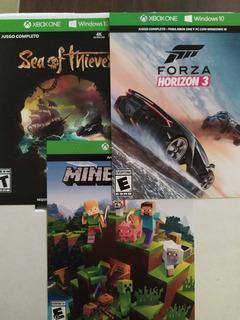 Sea Of Thieves, Minecraft Y Forza Horizon 3 Para Xbox One