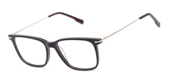 Armação Oculos Ogrife Og 1097-c Masculino Com Lente Sem Grau