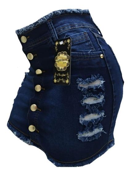 Mini Saia Jeans Curta Plus Size 36 Ao 54
