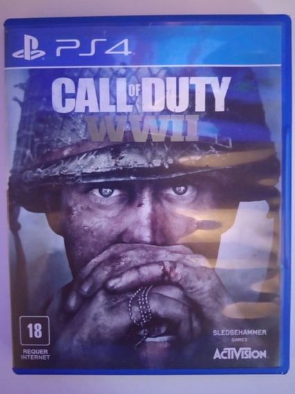 Jogo Ps4 Call Of Duty Ww2 Activision
