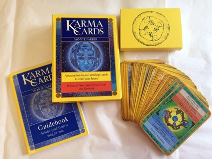 Karma Cards. Monte Farber. Amazing Fun-to-use Astrology...