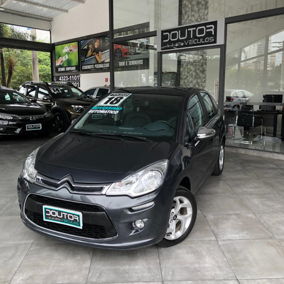 Citroen C3 2018 1.6 Exclusive Flex Automático / C3 2018 18