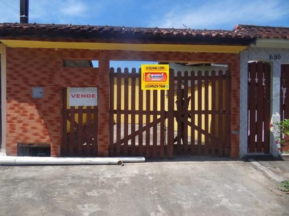 Casa De Praia Só R$ 118 Mil Somente A Vista Mongaguá 6823 C