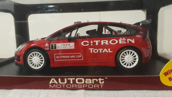 Citroen C4 Wrc Winner Rally Germany 1/18