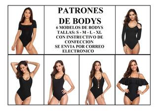 Patrón Molde Body Dama Ultima Moda+obsequio Body Niña