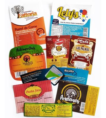 Etiquetas Adhesivas, Troqueladas, Personalizadas, Stickers,