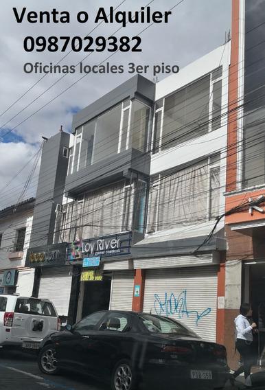 Local Comercial / Oficinas En El Mejor Lugar De Ibarra