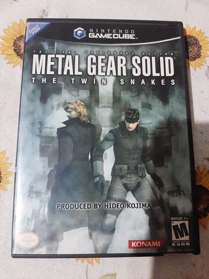 Metal Gear Solid Twin Snakes Gamecube Original Americano