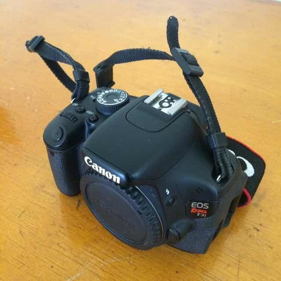 Câmera Canon T3i + Acessórios (leia A Descrição)
