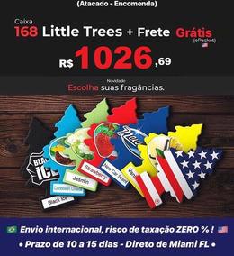 Aromatizante Little Trees 168 Unidades - Atacado Original!