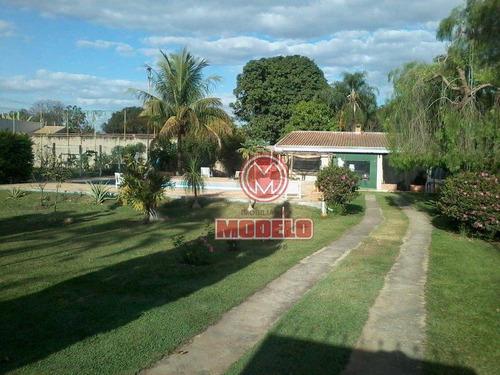 Chácara Com 3 Dormitórios À Venda, 1275 M² Por R$ 1.000.000,00 - Campestre - Piracicaba/sp - Ch0159