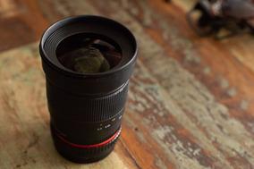 Lente Bower Para Canon 35mm 1.4 Manual - Mesma Fabrica Rokin