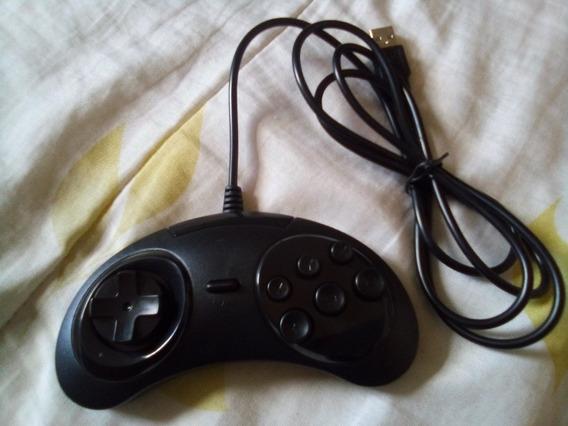 Controle Mega Drive Usb