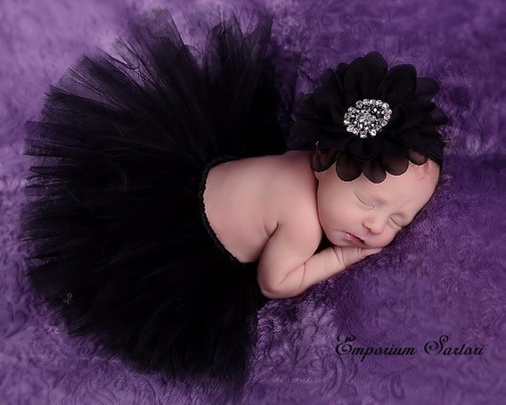 Saia Tutu Tule Bebê P/ Ensaio Fotográfico Bebê Newborn