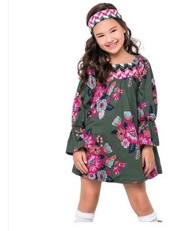 Vestido Floral Nanai 14835