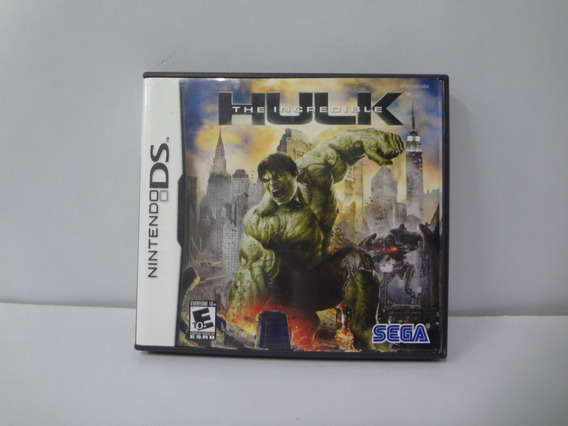 Jogo The Incredible Hulk Nintendo Ds