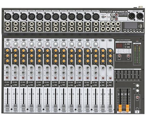 Mesa De Som Soundcraft Sx 1602 Fx Usb Bivolt
