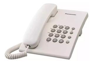 Teléfono Fijo Panasonic Kx-ts500 Blanco