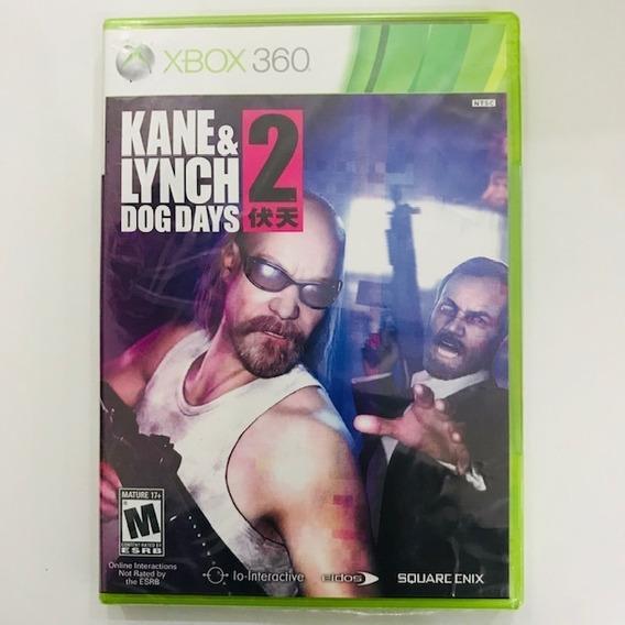 Kane E Lynch 2 Dog Days Xbox 360 Mídia Física Pronta Entrega