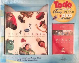 Libro Enciclopedia De Disney Pixar Pixarpedia + Dvd