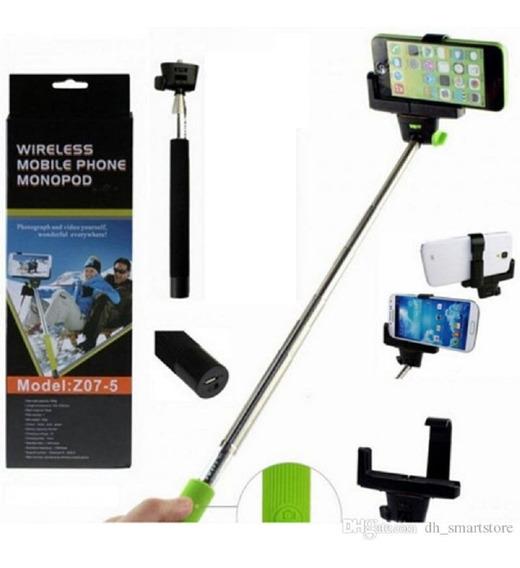Pau De Self Monopé Bluetooth Disparo Profissional Go Pro Cel