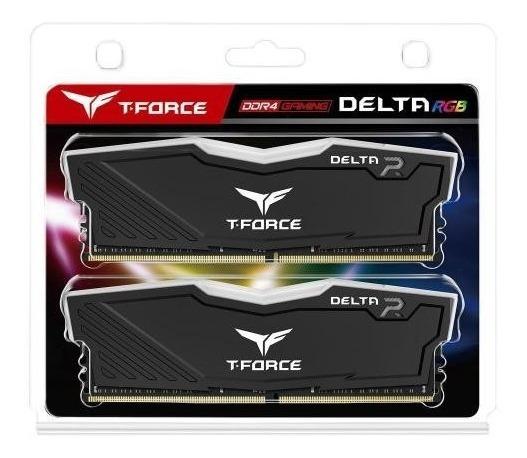 Team T-force Delta Rgb Series 8gb (2 X 4) Ddr4 2400mhz