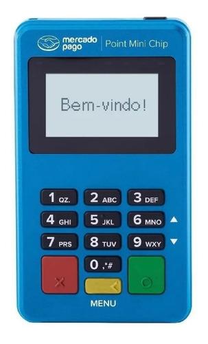 Imagem 1 de 5 de Point Mini Chip Maquina Cartão Mercado Pago Wifi Sem Celular