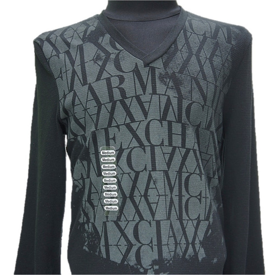 Playera Armani Exchange Love Ax Thermal