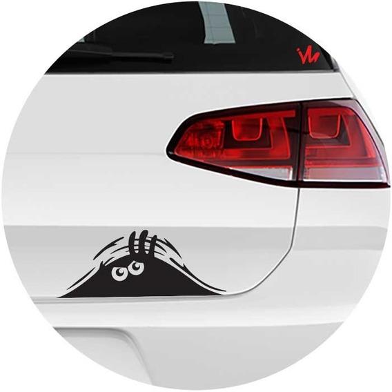 Personalize Seu Automóvel! Adesivo Monstro Escondido Fixa