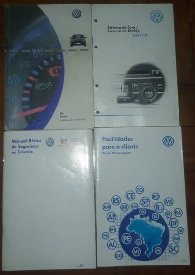 Manual De Instruções Vw Gol/parati Completo (ler Descrição)