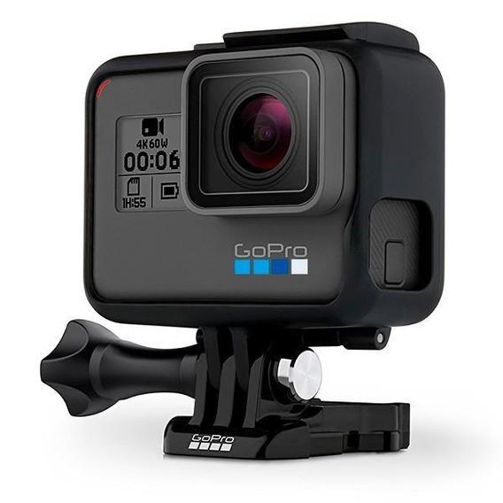 Câmera De Ação Gopro Hero 6 12mp 4k Com Wi-fi E Comando Voz