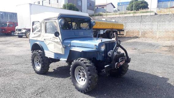 Jeep Willys Cara De Cavalo 1951,somente Venda!!!!