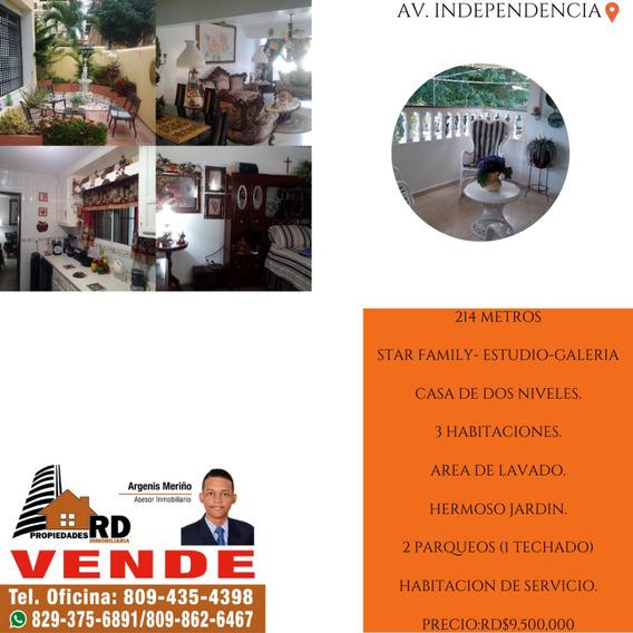 Vendo Excelente Casa En La Independencia