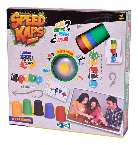 Speed Kaps Game Ditoys