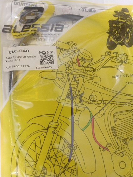 Cable De Clouth/embrague Italika Rt-250 Clc-040