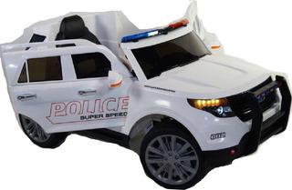 Auto De Policia A Bateria 12v - Control Remoto