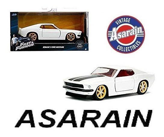 Roman´s Ford Mustang Velozes Furiosos 6 Fast Furious 1/32