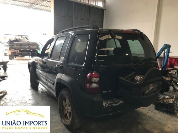 Sucatas Jeep Cherokee 3.7 V6 Gasolina Caixa, Diferencail