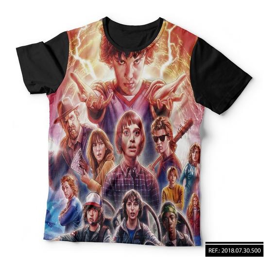 Camisa Camiseta Série Stranger Things Eleven 11 Temporada