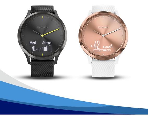 Reloj Garmin Vivomove Hr Sport Seguimiento Tienda Oficial