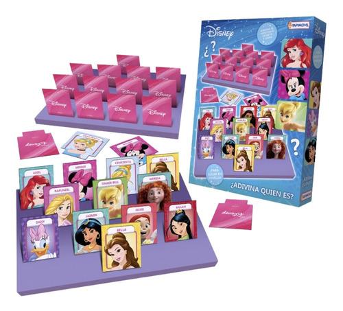 Imagen 1 de 5 de Adivina Quién Es Quien Disney Princesas Rapunzel  Juego Mesa