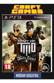 Army Of Two The Devils Cartel Ps3 Digital Psn