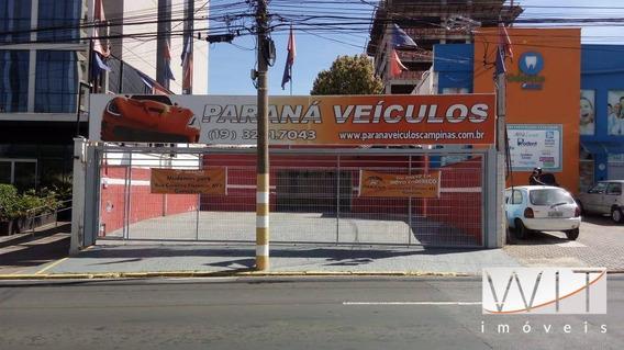 Área À Venda, 363 M² Por R$ 1.280.000,00 - Botafogo - Campinas/sp - Ar0006