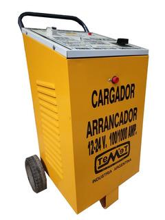 Cargador Baterías C/arrancador 12/24 V 100/1000 Amp