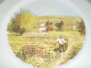 Plato De Porcelana Bavaria Decorativo. Diámetro: 27 Cms.
